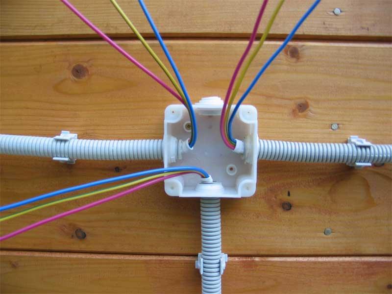 Как сделать монтаж кабелей