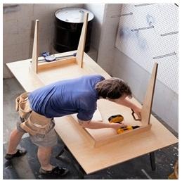 Сборка столов по низким ценам в Рязани от специалистов