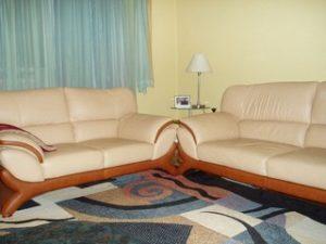 Перетяжка кожаной мебели в Рязани
